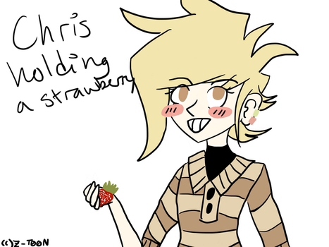 Chris n Strawberry by FantasticCheese