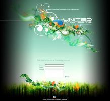 United Concepts Splash Page by toponea