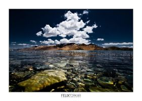 Tibetan Waterscape by FelixTo