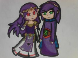 Hilda and Ravio by TeLinkfan1