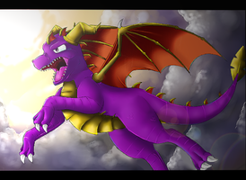 Spyro The Dragon by Ink-Leviathan