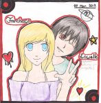 Franchesca and Lowell(e) by angelettediana11