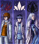 E: Winter Bookmarks by AealZX