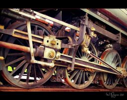 Iron Wheels by Pajunen