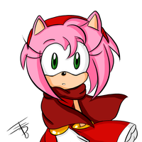 Amy with a cape yet again by EdoBean