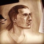 Figure Drawing Portrait by schsomething