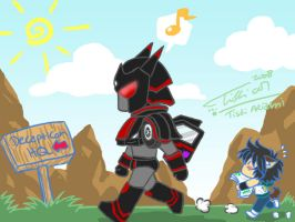 One Day with BlackGate by Tc-Chan