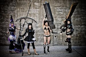 Black Rock Shooter by vensii