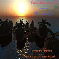 Final Fantasy X on Second Life by Renmiri