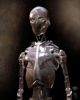 Robot Concept 1 AI by aaronsimscompany