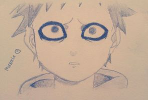 naruto-gaara as a child 1.1 by miriiacle