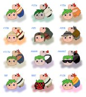 Phineas and Ferb Tsum Tsum by isuzu9