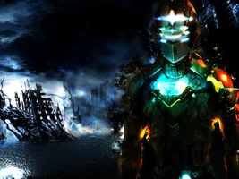 Dead Space Wall - in working by marcoshypnos