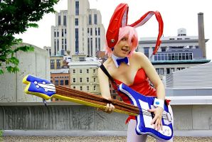 Crazy Rockin' Bunny by Kudrel-Cosplay