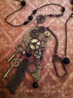 Victorian Pocket Watch Necklace.... by NenaPerrill