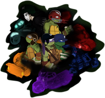 TMNT_Time to ride by Doodlz18
