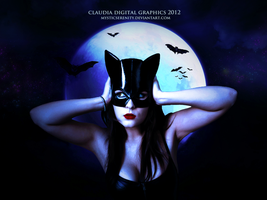 Catwoman by MysticSerenity