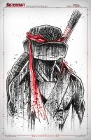 TMNT Saucy Donny Retro Noir by RobDuenas