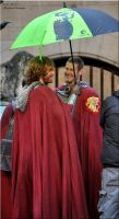Pierrefonds Sept. 2012 - Leon and Percival 2 by MorgainePendragon