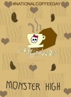 Coffin Bean for National Coffee Day by DarkRoseDiamond123