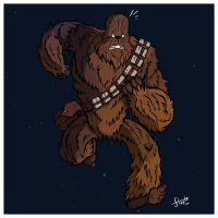 Chewbacca by stayte-of-the-art