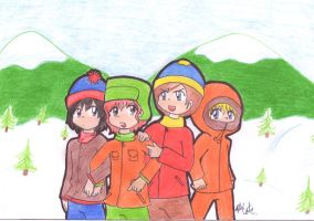 south park by mad-foxy