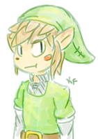 Quick Link doodle by Kirafrog