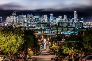 San Francisco - Skyline by DarkSaiF