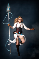 Hextech Janna Cosplay by DemoraFairy