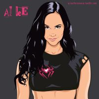 Aj Lee by chaotic-color