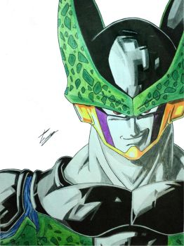 Perfect Cell - Painted by EckoSlime
