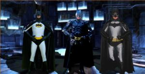 3 Batmen, 1 Batty9999 by batty9999