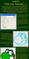 Pixel Icon Tutorial by medli20