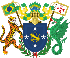 Brazil coat of arms by Leoninia