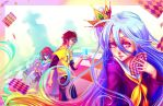 No Game, No Life. by Dreamerwhit95