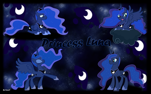 Princess Luna v2 by KyssS90