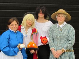 Howl's Moving Castle Acen 2012 by joshietakashima