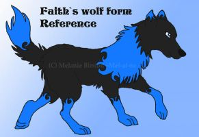 Faith's wolf form reference by Mel-at-ne