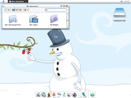 December Desktop by lapinbionic