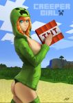 Creeper Girl by hunky-dory-artist