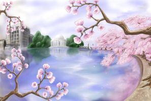 Cherry Blossom Festival by Aedeon