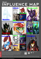 Influence Map No.1 by Sham-creator-of-dark