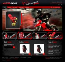 moto gear by xtreamgraphic
