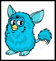 Furby 2012 by MintyDreams7