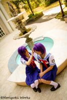 Kyou and Ryou - Clannad cosplay by Meryl-sama