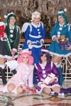 Outer Senshi Holiday by PinkJusticeCosplay