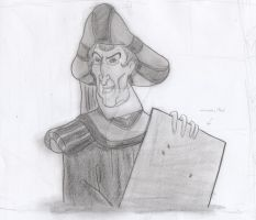 Frollo - They call it the...heh, Court of Miracles by yami0815