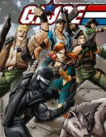 G.I. JOE colored by REX-203