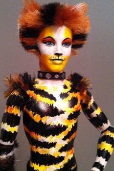 Cats doll - Mungojerrie by BWCat