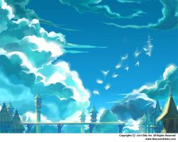 Sky Shrine by ethe